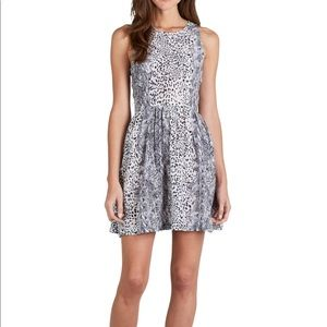 NWT Joie Bernadine Leopard-Print Dress